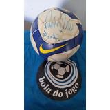 ddeee481a9 Bola Oficial Nike Autografada Jogo Do Corinthians X Grêmio