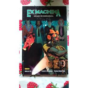 Ex Machina Vol 1 Estado De Emergência Panini