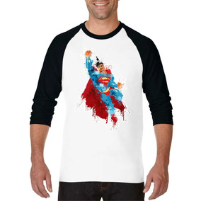 Playera Superman Dc Justice League Ranglan Hombre De Acero