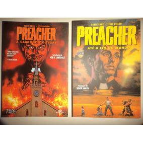 Vertigo Preacher Fim Do Mundo + A Caminho Do Texas Devir Exc