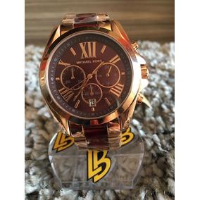 eff14b925d8bd Lindíssimo Relógio Michael Kors Rosê Gold Mk 5128 - Relógios no ...