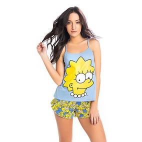 Pijama Lisa Los Simpsons Oficial 1054 Promesse