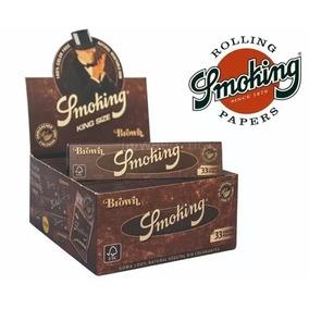 Seda Smoking Brown Atacado- 2 Caixas Grande C/ 50un