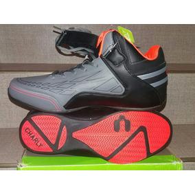 Tenis Charly Deportivo Basket Talla 30 Mod 1030588 Gris/negr