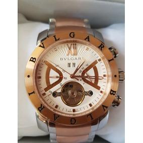120f493063f Relogio Bvlgari Caixa Em Aco - Relógios De Pulso no Mercado Livre Brasil
