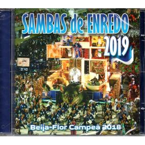 Cd Sambas De Enredo Do Rio De Janeiro - Do Carnaval 2019