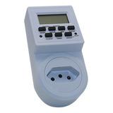 Timer Digital E Temporizador Tomada Bivolt - 10a