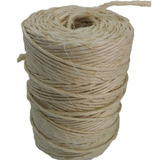 Fio Sisal 700/2 2,7 Mm Natural 350 M Rolo Amarra Uso Geral