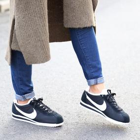 huge discount db673 b4ac4 Zapatillas Para Mujer Nike Cortez Classic Nylon Nuevo 2017