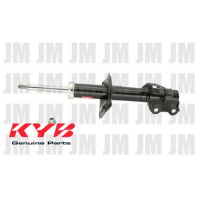 Amortiguadores Nissan Tiida Gas 06-16 Kyb Completos 4 Piezas
