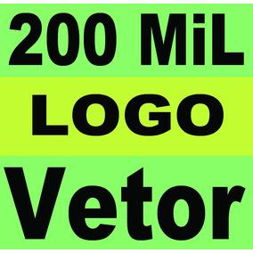 200 Mil Vetores Logo Template Banner Clipart +escudo De Time