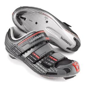 Zapatillas Shimano R099 Fibra Carbono Zapato.de Ruta Talla27 b5ada481aea4c