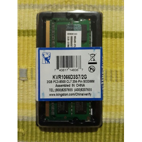 Memoria Kingston 2gb Pc3-8500 Ddr3