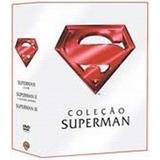 Dvd Coleção Superman - 3 Discos Novo Lacrado