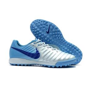 90d8339e21957 Chuteira Nike Tiempo Natural Iv Tf Society - Chuteiras Azul no ...