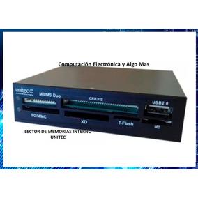 Lector De Memorias Interno Microsd, Sd, T-flash, Usb Para Pc