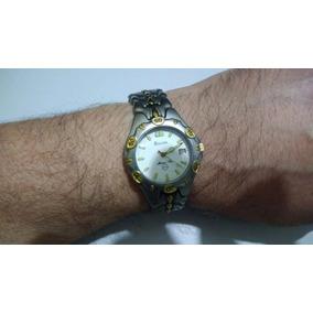 Relógio Bulova Marine Star Vintage Em Titanio