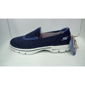 Zapatos Baletas Skechers Go Walk 3 Mujer Original
