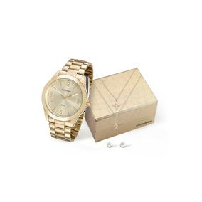 ce4bd1b1a46 Kit Mondaine Relogio Semi Joias - Relógios no Mercado Livre Brasil