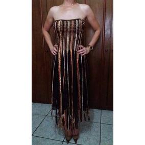 Vestido De Festa Semi Novo - P/ Formatura, Casamentos Etc