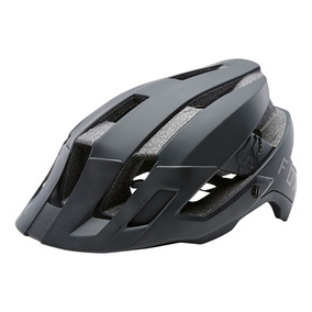 Capacete Ciclismo Fox Flux Solid Black Bike Original Pto S/m