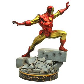 Marvel Premier Collection Classic Iron Man Resin Statue