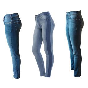 Lote De 3 Jeans Mujer Ossira Con Descuento!! (talle 28)