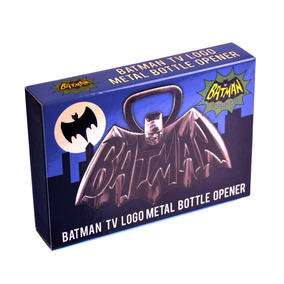 Batman Tv Logo Metal Bottle Opener = Magnetico-2 Unidades