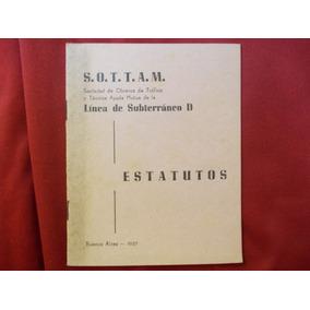 5273-subterraneo S. O. T. T. A. M. Linea D-estatutos 57