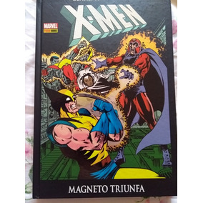 X-men Magneto Triunfa Capa Dura Panini