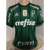 Camisa Palmeiras De Jogo Crefisa Y. Mina 26 adidas Tam G 879474a75849b
