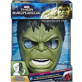 Hulk Mascara Hasbro Original Mueve La Mandibula