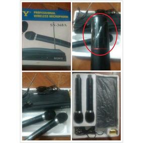 Micrófonos Inalambricos Sony Sn-368a
