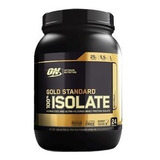 100% Whey Gold Isolate (1.58lbs/720g) Optimum 24 Doses On