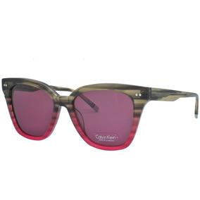 a6a5b06356882 Óculos De Sol Calvin Klein Feminino Original Ck4359s 022