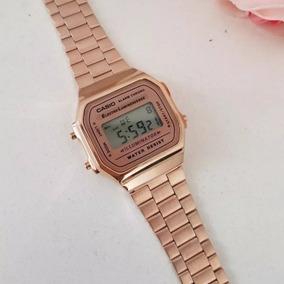 1aca5a64c71 Relogio Everlast E084 Ouro Rose Unissex Casio - Relógios De Pulso no ...