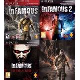 Infamous 1 + Infamous 2 + Festival Of Blood ~ Ps3 Digital