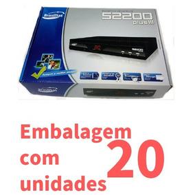 Receptor Analógico Brasilsat S2200 Plus Ill ( 20 Pçs )