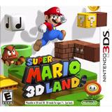 Super Mario 3d Land Nintendo 3ds. Fisico, Nuevo, Sellado