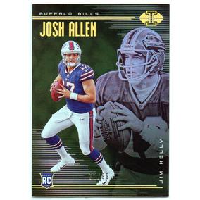 b4f8486cb5d6e 2018 Illusions Green Josh Allen Rookie Jim Kelly Bills  99