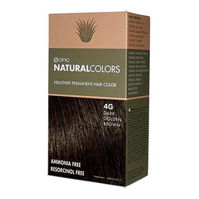 Onc Naturalcolors 4g De Oro De Brown Oscuro Saludable Perman