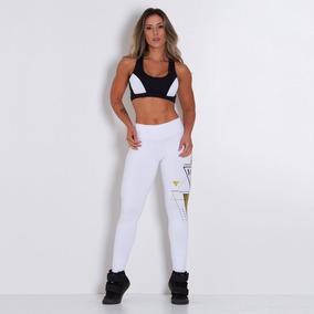 Kit Feminino Fitness, Duas Calças Leggings + Body Strapy