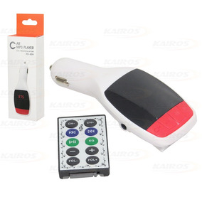 Transmissor Digital S/ Fio C/ Fm / Mp3 / Usb / Tf Kd627