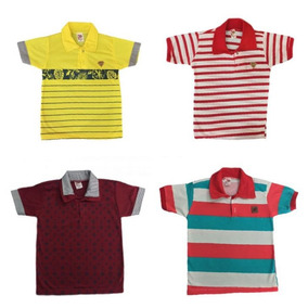 Camisa Polo Infantil Atacado - Pólos Manga Curta para Meninos no ... 3ea516f13a53b