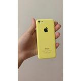 iPhone 5c 16gb Amarelo Usado