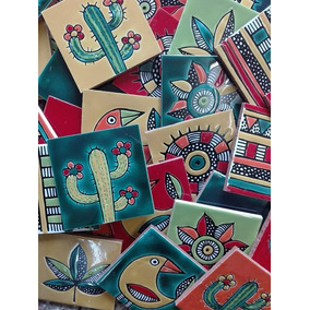 Azulejos Tocetos 10x10 Relieve Linea Tijuana. ( Fabricante )