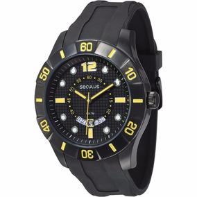 Relógio De Pulso Masculino Seculus 60644gpsvpu1