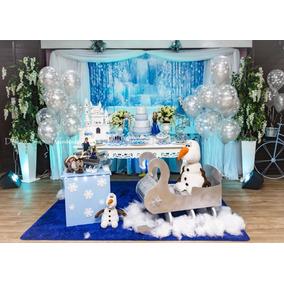 Locação Festa Decoração Infantil Frozen Olaf Disney