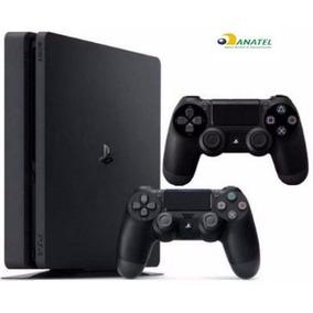 Playstation 4 Slim Sony 500gb Ps4 Original Bivol 2 Controles