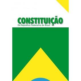 Constituição Federal- 2018 99ª Emenda - Modelo Livro